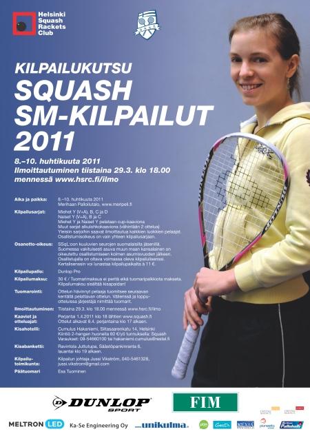 Squashin SM-kilpailut 2011