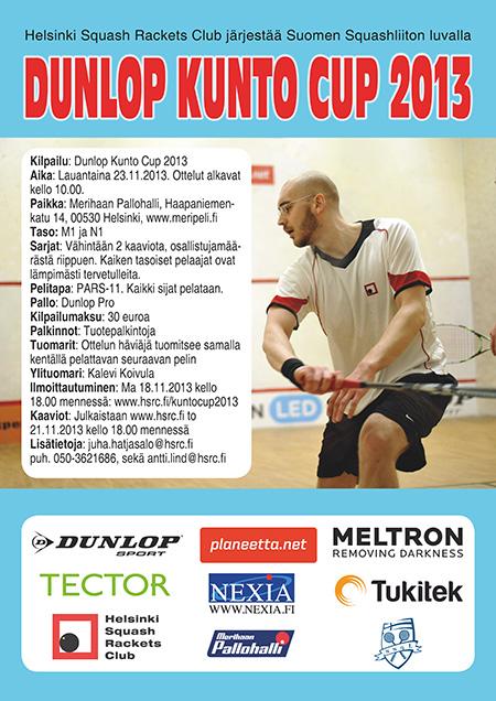 Dunlop Kunto Cup 2013