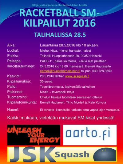 Racketball SM 2016