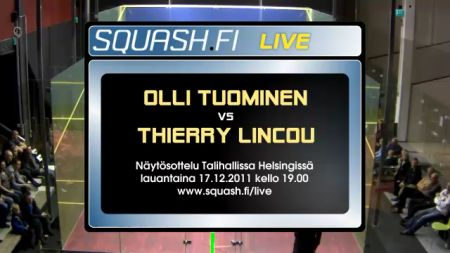 Olli Tuominen vs Thierry Lincou